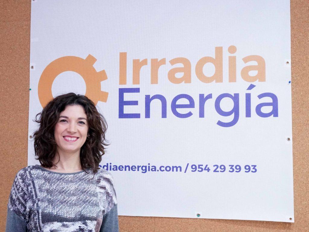 equipo irradia energía